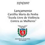 Lançamento da Cartilha Maria da Penha