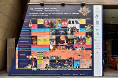Information Panel (chooyutshing) Tags: informationpanel display kalaautsavam indianfestivalofarts2017 esplanadecourtyard marinabay singapore