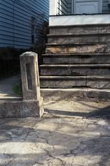 Cement layer cake (ADMurr) Tags: hampden baltimore steps post cement leica m6 50mm summicron kodak ektar ccc901