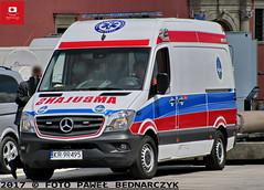 KR 9R495 - Mercedes Benz Sprinter 316 Bluetec/Auto Form - SP ZOZ MSWiA Kraków (Pawel Bednarczyk) Tags: kr9r495 mercedes benz sprinter 316 bluetec auto form sp zoz mswia kraków warszawa stolica mazowsze mazowieckie karetka ambulans fsv paramedic ambulance