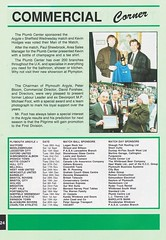 Plymouth Argyle vs Blackburn Rovers - 1991 - Page 24 (The Sky Strikers) Tags: plymouth argyle blackburn rovers barclays league division two home park programme one pound