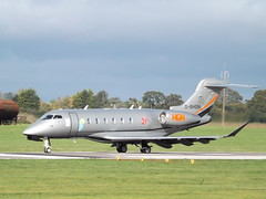 D-BHGN Bombardier Challenger 350 Windrose Air Jetcharter (Aircaft @ Gloucestershire Airport By James) Tags: oxford airport dbhgn bombardier challenger 350 windrose air jetcharter bizjet egtk james lloyds