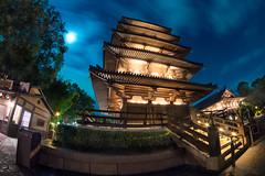 World Showcase - Japan Pavilion (MarcStampfli) Tags: disney epcot florida japan night nikond3200 themeparks vacationkingdom wdw waltdisneyworld worldshowcase
