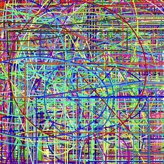 numerous color lines