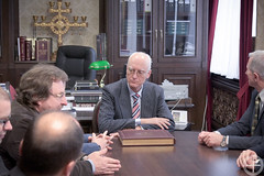 Ректор Минской духовной академии встретился с экуменической группой