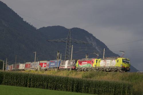 A TXL 193 550-9 / TXL 193 557-6  /TXL 189 997-0 Langkampfen 12-09-2017