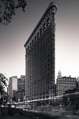 Flatiron Building, New York 2017 (Joel Tjintjelaar) Tags: nyc newyork flatiron flatironbuilding longexposurephotography bw blackandwhitearchitecturephotography splittoning fineartarchitecture blackandwhitephotography quickmaskpropanel joeltjintjelaar newyorkcity