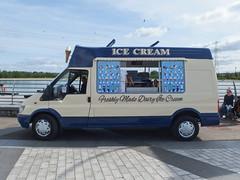 Ice cream van (danube9999) Tags: ford transit icecream icecreamvan helixpark falkirk fordtransit