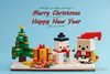 tkm-DanboChristmas-4 (tankm) Tags: danbo danboard christmas snowman lego