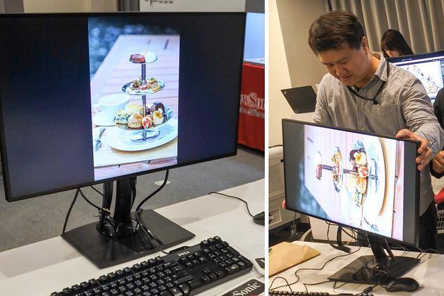 ViewSonic體驗會_14_VP系列可旋轉專業型電腦螢幕 攝隱人展現真色彩看過來VP2780_阿君君愛料理-4789