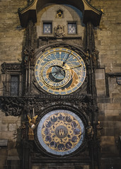 Astrological Clock (Leng Cheng) Tags: prague czechrepublic astrologicalclock oldtownsquare fuji fujifilm