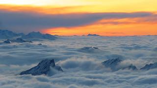 View from Säntis - Appenzell - Schweiz [Explored #65]