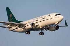 HZ-MF2 - Saudi Ministry of Finance and Economy - Boeing 737-7AJ(BBJ) (5B-DUS) Tags: hzmf2 saudi ministry finance economy boeing 7377ajbbj 737700 b737 lca lclk larnaca larnaka international airport airplane aircraft aviation cyprus flughafen flugzeug planespotting plane spotting