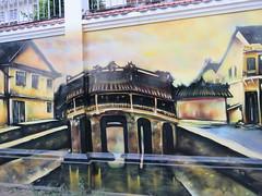 Vietnam - South Vietnam - Ho Chi Minh City - Street art in District 1 - Bridge (JulesFoto) Tags: vietnam hochiminhcity saigon bridge streetart mural
