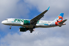 Frontier Airlines Airbus A320-251N - N308FR (AeroPX) Tags: aeropx airbusa320 airbusa320neo caryliao ewing flotheflamingo frontierairlines kttn n308fr nj newjersey ttn trentonmercercountyairport httpaeropxcom httpcaryliaocom