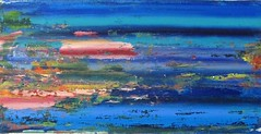 The river (Peter Wachtmeister) Tags: artinformel art modernart artbrut acrylicpaint abstract abstrakt popart surrealismus surrealism hanspeterwachtmeister