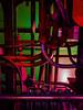 Pipe Dreams (Steve Taylor (Photography)) Tags: pipe tube underground train interior engine thread rivets green red mauve purple metal uk gb england greatbritain unitedkingdom london curve bend londontransportmuseum hydraulics
