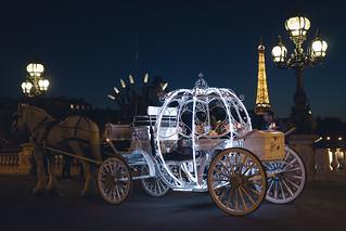 Le carrosse de Cendrillon à Paris