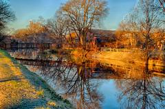 Morning  Reflections (kendoman26) Tags: hdr nikhdrefexpro2 niksoftware nikcoloreffex4pro imcanal iandmcanal imcanaliandmcanal goldenhour hss happyslidersunday sonyalpha sonya58 sonyslta58 sonyphotographing reflection
