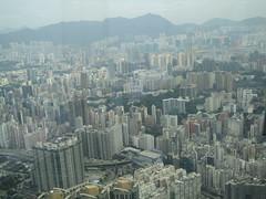 IMG_0556 (Sweet One) Tags: icc sky100 observationdeck view city skyline buildings towers hongkong harbour