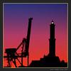 "Lighthouse ""La Lanterna"" and crane  - Genoa, Italy (cienne45) Tags: lighthouse lanterna lalanterna lalanternadigenova genoa liguria italy crane gru port loggia sanlorenzo sanlorenzocathedral carlonatale cienne45 natale zena"