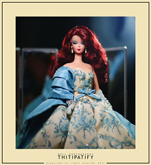 Reine (thitipatify) Tags: barbie silkstone doll toy gown glamour glam diorama dress dior model moda studio holidays hollywood classic couture romantic best robertbest ball magazine integrity vintage portrait quality luxury