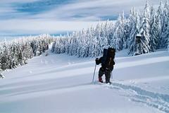 Winter trail in Beskid Żywiecki Mountains (Paweł Błaszak) Tags: travel poland snow winter beskidy mountains