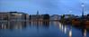 The evening in Stockholm (ArtDen82) Tags: evening stockholm sveden scandinavia architecture bridge sunset longexposure reflections night river dusk water city