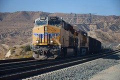 Ascending (CrispyBassist) Tags: railroad railway train track california unionpacific up uprr cajonpass mountain locomotive