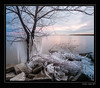 Early Winter at Kettle Point (Marc Aubin2009) Tags: ice lake water sunrise sunset shore kettle point ontario canada