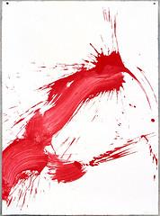 2000.09-2001.02[4] Paper red ink and metal plate oil painting Taipei Shenkeng Caodiwei studio 纸上朱墨与金属板上油画 台北深坑草地尾工作室-30 (8hai - painting) Tags: 2000092001024 paper red ink metal plate oil painting taipei shenkeng caodiwei studio 纸上朱墨与金属板上油画 台北深坑草地尾工作室 yang hui bahai