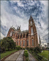 La Catedral (MarioVolpi) Tags: argentina argentine arquitectura architecture canon clouds cielo cloudy cupulas catedral cathedral church chapell hdr panorama pano la plata