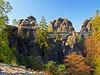 Bastei (Vid Pogacnik) Tags: germany saxony saxonswitzerland outdoors hiking landscape rocktowers rockformations bastei castle
