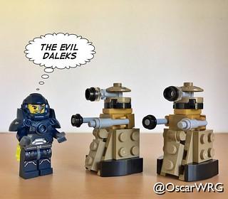 #LEGO_Galaxy_Patrol #LEGO #DoctorWho #Dalek #Daleks