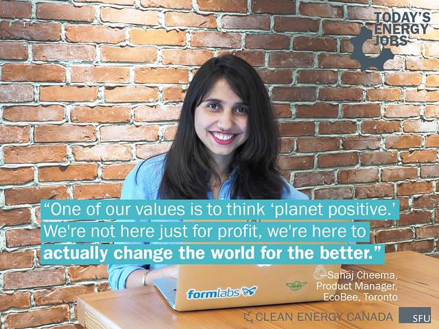 Sahaj Cheema - Director of Product Management - ecobee