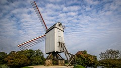 Windmill - 4204 (YᗩSᗰIᘉᗴ HᗴᘉS +15 000 000 thx) Tags: windmill moulin bruges be bel eu aa flandres hdr 3exp europa europe hensyasmine yasminehens