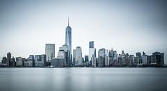 Skyline (tozaw) Tags: cold d700 nikon freedom tower newyork manhattan water river lower