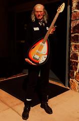 No, That's Not Me (tmvissers) Tags: sandiego california vox teardrop 1965 bass guitar billwyman model sunburst hollow body