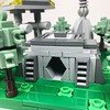 Micro Endor bunker (elemental_lego) Tags: lego starwars endor forest tree scene micro tiny modular photo space scifi art photography nature spaceship