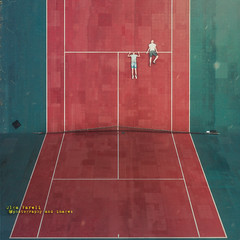 inception (olgavareli) Tags: drone inception surreal conceptual magic realism olga vareli tennis court athletes trolled