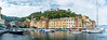 D71_8765-Pano.jpg (David Hamments) Tags: italy panorama portofino harbour hiketoportofino
