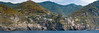 Coastal Pano (Ron Scubadiver's Wild Life) Tags: landscape sea sky mountains architecture cinco terre italy nkon 70300