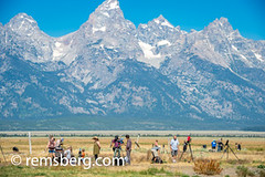 Grand Tetons National Park, Teton County, Wyoming (Remsberg Photos) Tags: eclipse grandteton jackson landscape mountains nationalpark solar tetons west wyoming colorimage grandtetonnationalpark beautyinnature tetonrange mountainrange rockymountains mountain nature westernusa jacksonhole horizontal outdoors skyline sky traveldesintations tourism tranquilscene majestic impressive noble elevated splendid clearskies usa