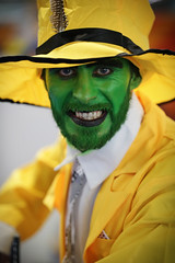 Birmingham MCM Comic Con, November 2017 (Gordon.A) Tags: birmingham nec mcm comiccon mcmcomiccon creative costume cosplay culture yellow event eventphotography man people peoplewatching amateur portrait portraitphotography colourportrait pose naturallight naturallightportrait canon eos canoneos750d sigma sigma50100mmf18dc