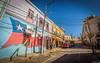 Cerro Alegre (Eugercios) Tags: valparaiso valpo chile color cerro alegre hill street calle cityscape ciudad city cidade graffiti urban art urbanview unescoworldheritage unesco america southamerica sudamerica patrimoniodelahumanidad patrimóniomundial portpuerto port puerto porto cores cor