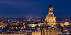 Altstadtblick (funtor) Tags: dämmerungnacht dresden sachsen germany city night color light skyline blue building architecture