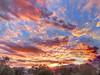 Sky Candy (splinx1) Tags: twilight twilightriot hdr handheld mountains highdesert california canonpowershotelph330hs canonart
