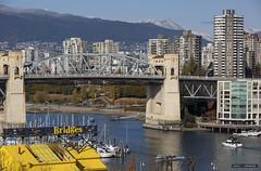 Bridges (Clayton Perry Photoworks) Tags: vancouver bc canada fall autumn explorebc explorecanada skyline bridge downtown city burrardstreetbridge