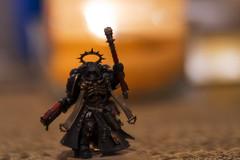 Primaris Chaplain (Jay Pasion) Tags: jaypasion nikon tamron warhammer 40k macro ultramarines dof bokeh primaris