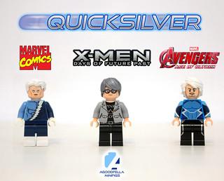 Quicksilver v.2 ⚡� [VARIANTS] [MCU] [COMICS]